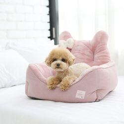 코코 베어 포그니 베드 (핑크) M