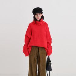 boxy glamour pola knit (5colors)