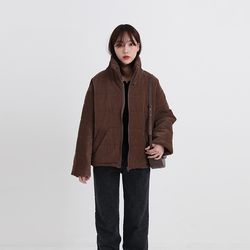 high corduroy padding (2colors)