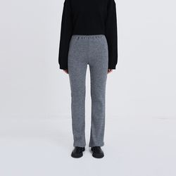 slit point knit pants (2colors)
