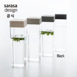 사라사디자인 워터저그 냉장고 물병 1.2L 블랙