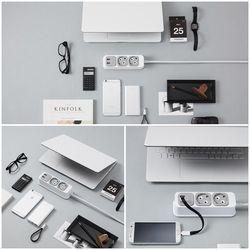 부엉이클릭탭 USB 2구 1.5m
