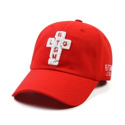 AOS BASEBALL CAP RED