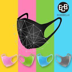 3D 입체 마스크 패션마스크 블랙마스크 물세탁가능