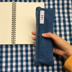 데님 필통(Denim pencil case)