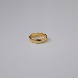 Gold Ring Finger Ring