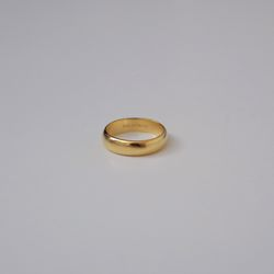 Gold Ring Finger Ring (Matt)