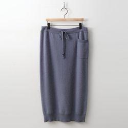Angora Knit Long Skirt