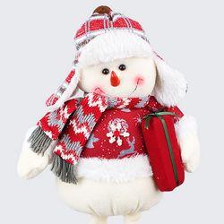 크리스마스 키크는 눈사람 인형