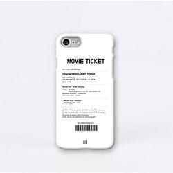 무비 티켓 (MOVIE TICKET) 디자인 하드 케이스