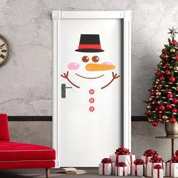펠트 크리스마스 캐릭터 장식세트 - 눈사람
