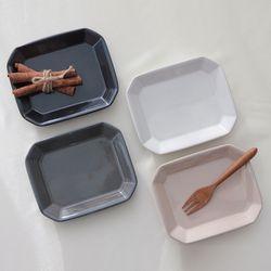 테르 팔각접시(소)(4color)