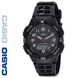 CASIO 카시오 AQ-S800W-1B 우레탄밴드 아나디지 빈티지시계
