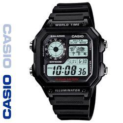 CASIO 카시오 AE-1200WH-1A 우레탄밴드 디지털 빈티지 전자시계