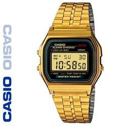 CASIO 카시오 A159WGEA-1 메탈밴드 디지털 빈티지 전자시계