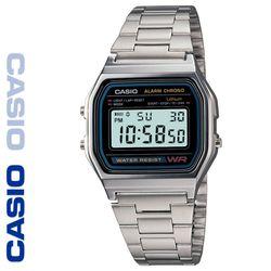 CASIO 카시오 A158WA-1 메탈밴드 디지털 빈티지 전자시계