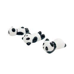 팬더 젓가락 받침 겸용 도자기 데코소품