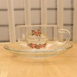 코지 마리아 테레지아 내열유리 컵 소서