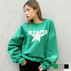 2367 스타 기모 맨투맨 (3colors)
