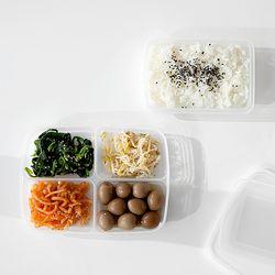 ZAKKA 냉장 냉동 소분 밀폐용기 3종 JAPAN