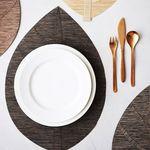 리프 방수 식탁 테이블 매트 폴리지L