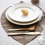 리프 방수 식탁 테이블 매트 폴리지S
