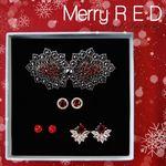 제이로렌 M02805 Merry RED 주얼리세트