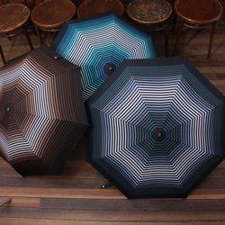 기라로쉬 3단 완전자동우산 [스트라이프그라데이션58-70029].