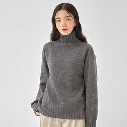 golgi neck wool polar knit