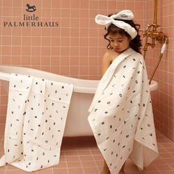 토토리 AL패턴 양면 아기목욕타올 1장 신생아목욕타올 블랭킷