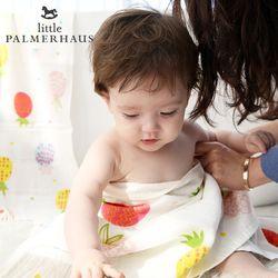 토토리 파인애플 양면 아기목욕타올 1장 거즈수건 블랭킷