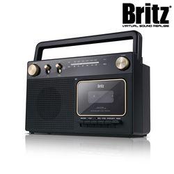브리츠 휴대용 라디오 카세트 플레이어 BZ-RT3800