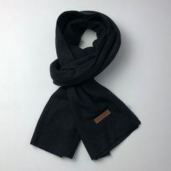 Monica basic scarf (Black)