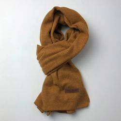 Monica basic scarf (Mustard)