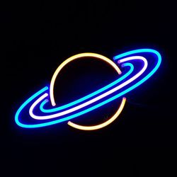 Neon Sign 네온사인 Planet