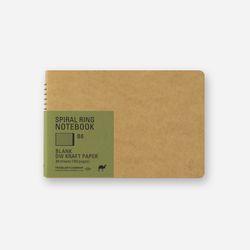 SPIRAL RING NOTEBOOK (B6) DW Kraft