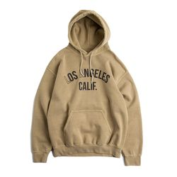 Los Angeles. California HOODY Pigment Mojave Sand