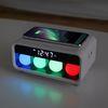 무아스 무선충전 무드등 LED 탁상시계 MC-W1