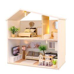 [adico]DIY 미니어처 하우스 - 라이트 타임