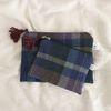 tartancheck pouch [ 15x10 ]
