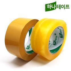 박스테이프투명황색OPP40m (50개입)