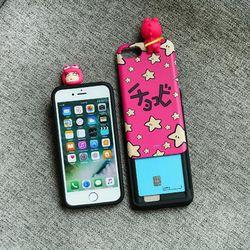 짱구 피규어 슬라이드 케이스.아이폰7(8)플러스공용