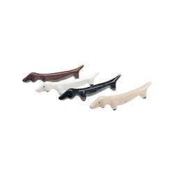 잭포트 강아지 젓가락 받침 겸용 도자기 데코소품