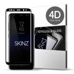 스킨즈 갤럭시S8플러스 4D 풀글루 강화유리 필름 (1장)