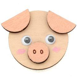 동물친구자석만들기-돼지