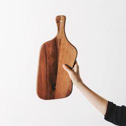 라우드 아카시아 서빙보드 43cm (비정형)