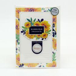 마리몬드 씨앗카드 - 메리골드(플라워)