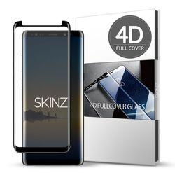 스킨즈 갤럭시노트8 4D 풀커버 강화유리 필름 (1장)