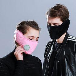필터 귀마개 마스크 일체형/귀도리 위생 패션 방한