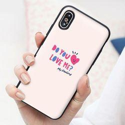 [Try]커플낙서 도어범퍼 케이스.LG G6(LGM600)